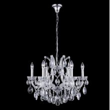 Подвесная люстра Crystal Lux Hollywood SP6 Chrome