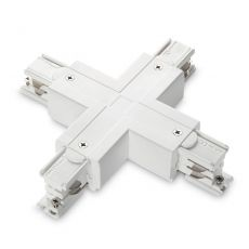 Коннектор X-образный Ideal Lux Link Trimless X-Connector White